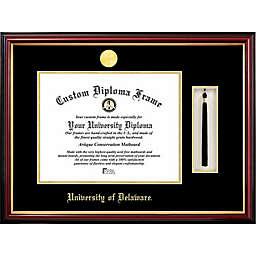 University of Delaware School Seal Graduation Tassel and Diploma Frame