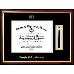 Georgia State University School Seal Graduation Tassel and Diploma Frame