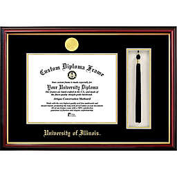 University of Illinois School Seal Graduation Tassel and Diploma Frame