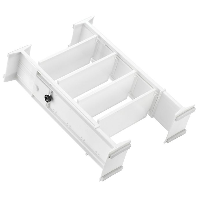 Alternate image 1 for Simply Essential ™ Adjustable Drawer Organizers