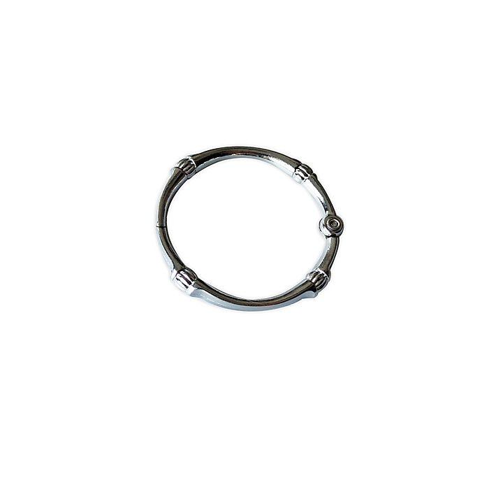 Alternate image 1 for Nestwell™ Metal O-Ring Shower Hooks (Set of 12)