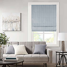 Madison Park® Galen Basketweave Room Darkening Cordless Roman Shade