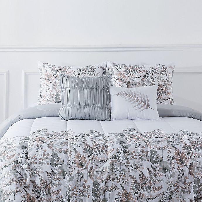 Alternate image 1 for Botanical 5-Piece Reversible Comforter Set