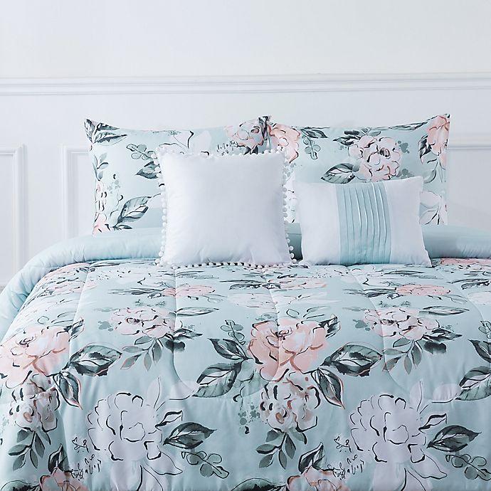 Alternate image 1 for Topanga Rose 5-Piece Reversible Comforter Set
