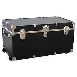 Seward Trunk® Seward Traveler 31-Inch Rolling Storage Trunk in Black