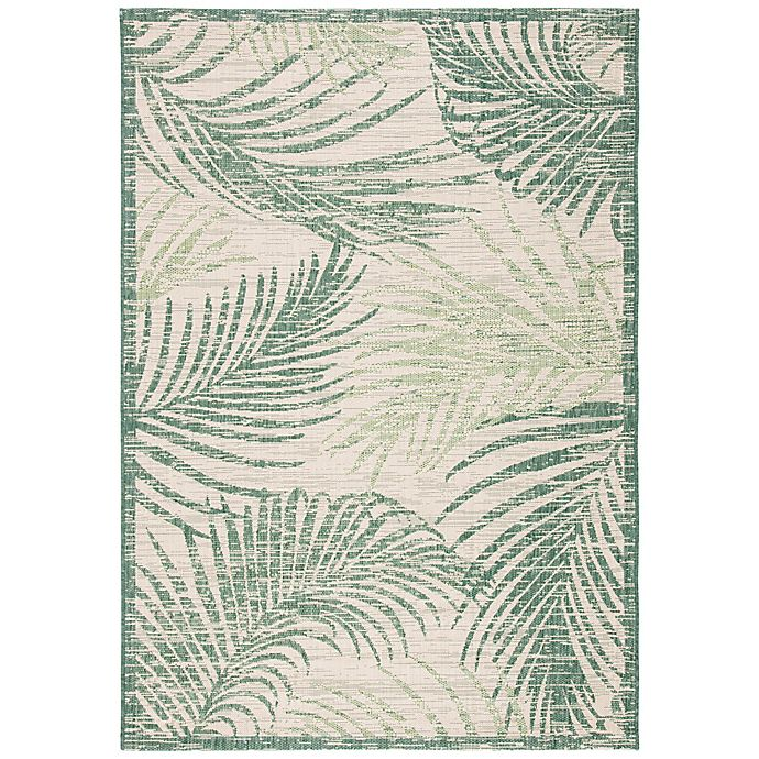 Alternate image 1 for W Home Palm Indoor/Outdoor Area Rug in Green