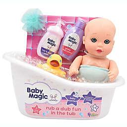 Baby Magic® Rub a Dub Fun in the Tub 7-Piece Doll Set
