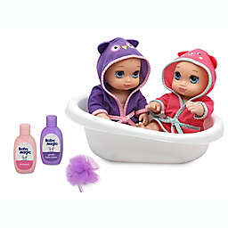 Baby Magic® Bathtime Twins Doll 8-Piece Playset