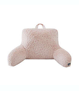 Almohada de respaldo de poliéster UGG® Miley color rosa cuarzo