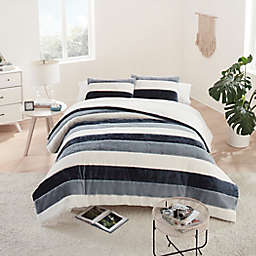 UGG® Grayson Striped 3-Piece Duvet Cover Set
