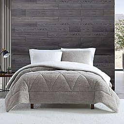 UGG® Classic Sherpa 3-Piece Full/Queen Comforter Set in Oatmeal Melange