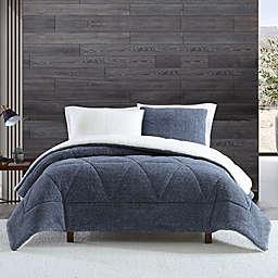 UGG® Classic Sherpa 3-Piece Full/Queen Comforter Set in Tahoe Blue Melange