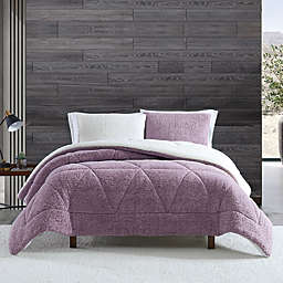 UGG® Classic Sherpa 3-Piece King Comforter Set in Verbena Melange