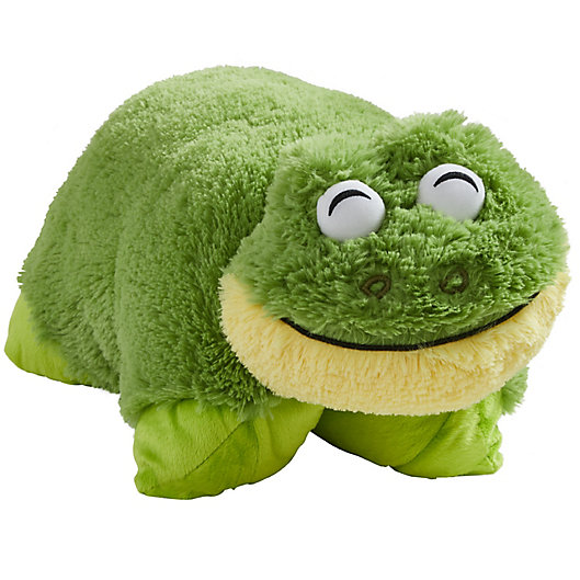 Alternate image 1 for Pillow Pets® Signature Frog Pillow Pet in Green