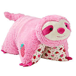 Pillow Pets® Sweet Scented Strawberry Sloth Pillow Pet