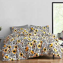marimekko® Mykero 2-Piece Twin Duvet Cover Set in White