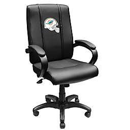 NFL Miami Dolphins Helmet Logo Office Chair 1000