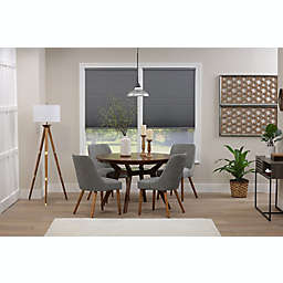 ECO HOME Blackout 49-Inch x 64-Inch Cordless Cellular Shade in Anchor Grey