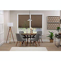 ECO HOME Blackout 45.5-Inch x 48-Inch Cordless Cellular Shade in Latte