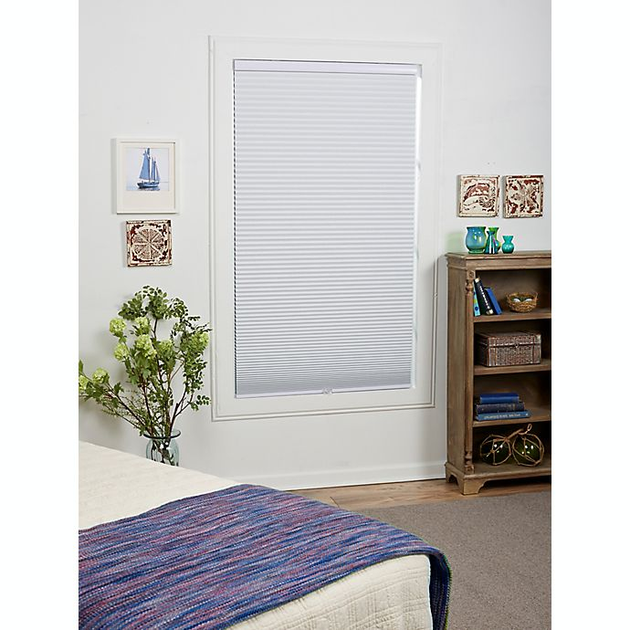 Alternate image 1 for ECO HOME Blackout 84-Inch Length Cordless Cellular Shade