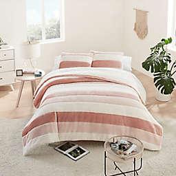 UGG® Grayson Striped 3-Piece King Comforter Set in Quartz