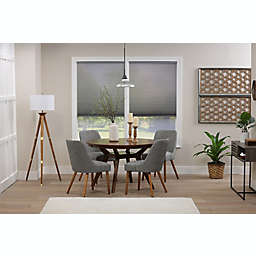 ECO HOME  Light Filtering 69.5-Inch x 64-Inch Cordless Cellular Shade in Anchor Grey