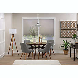 ECO HOME  Light Filtering 52-Inch x 48-Inch Cordless Cellular Shade in Grey