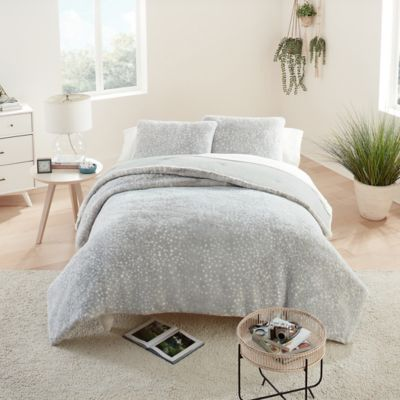 Ugg Elsie Faux Fur 3 Piece Comforter Set Bed Bath Beyond