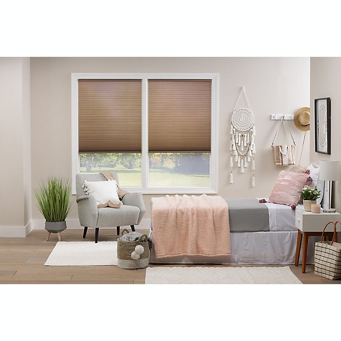 Alternate image 1 for ECO HOME  Light Filtering 48-Inch Length Cordless Cellular Shade