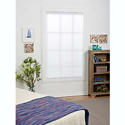 ECO HOME  Light Filtering 46-Inch x 72-Inch Cordless Cellular Shade in White