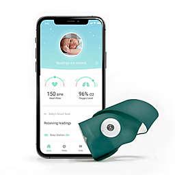 Owlet Smart Sock 3 Soft Bundle in Deep Sea Green