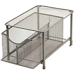 Squared Away™ Large Metal Mesh Cabinet Drawer