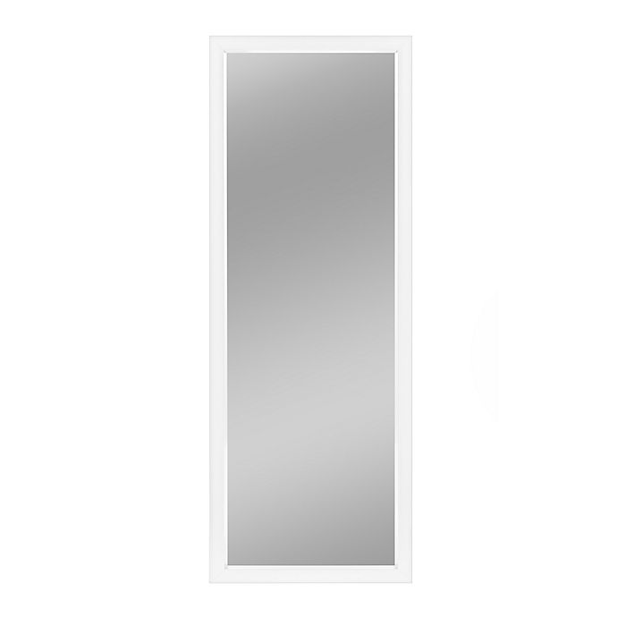 Alternate image 1 for Neutype 43-Inch x 16-Inch Full-Length Hanging Door Mirror