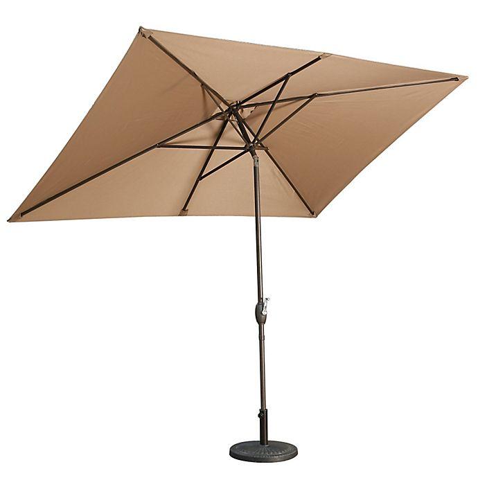 Alternate image 1 for Boyel Living 10-Foot x 6.5-Foot Rectangular Outdoor Umbrella