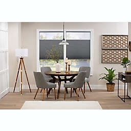 ECO HOME Top-Down Bottom-Up Blackout 45-Inch x 72-Inch Cordless Shade in Anchor Grey