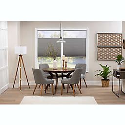 ECO HOME Top-Down Bottom-Up Blackout 24.5-Inch x 64-Inch Cordless Shade in Grey