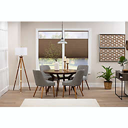 ECO HOME Top-Down Bottom-Up Blackout 44-Inch x 64-Inch Cordless Shade in Latte