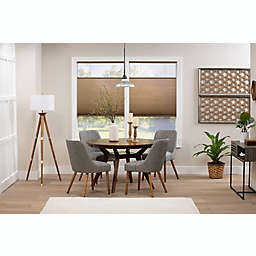 ECO HOME Top-Down Bottom-Up 47.5-Inch x 48-Inch Cordless Cellular Shade in Latte