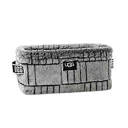 UGG® Iceberg Faux Fur Textured Medium Bin