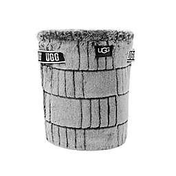 UGG® Iceberg Faux Fur Textured Wastebasket