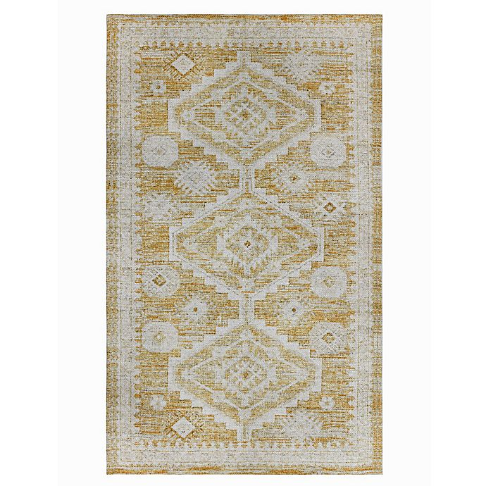 Alternate image 1 for Wild Sage™ Drea Bohemian 3' x 5' Area Rug in Yellow
