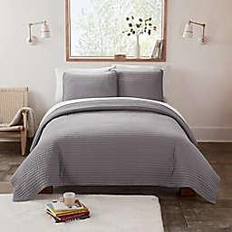 UGG® Devon XL Twin Quilt Set in Seal Grey