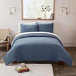UGG® Devon XL Twin Quilt Set in Tahoe Blue