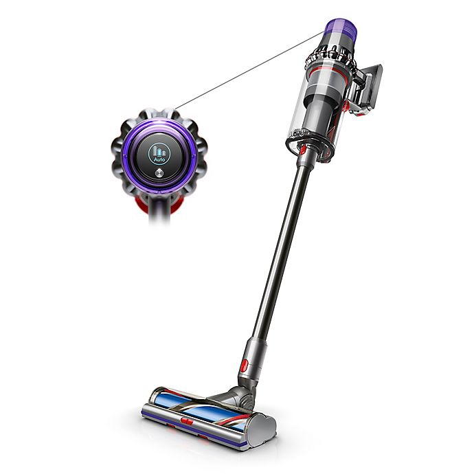 Alternate image 1 for Dyson Outsize Cordless Vacuum Cleaner in Nickel