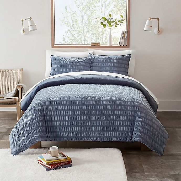 Alternate image 1 for UGG® Devon 3-Piece Reversible Textured Comforter Set
