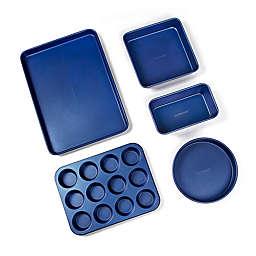 Granitestone Diamond Pro 5-Piece Bakeware Set in Blue