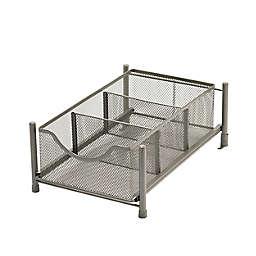Squared Away™ Small Metal Mesh Cabinet Drawer