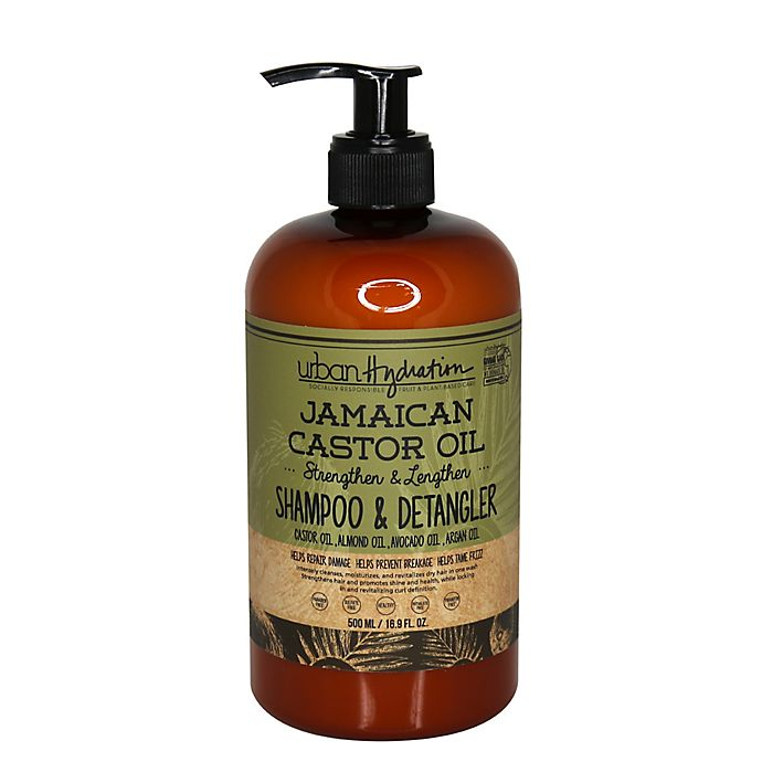 Alternate image 1 for Urban Hydration 16.9 oz. Jamaican Castor Oil Shampoo and Detangler