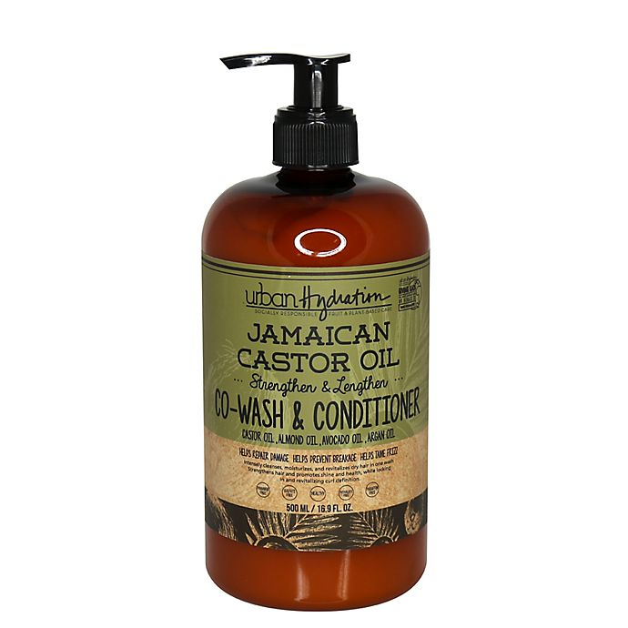 Alternate image 1 for Urban Hydration 16.9 oz. Jamaican Castor Oil Co-Wash and Conditioner