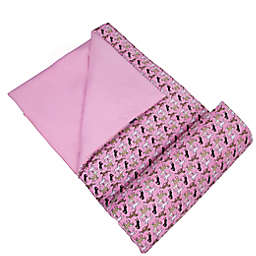 Wildkin Sleeping Bag - Horses in Pink